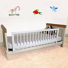 Safetots Wooden Bed Rail White Amazon Baby