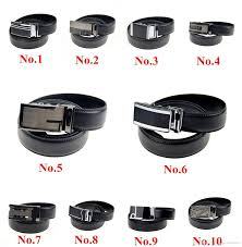 10 types fashion designer leather belts for men good quality