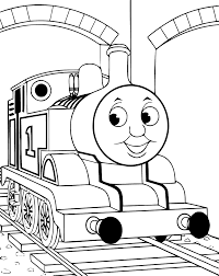 Coloriage Thomas Le Petit Train Coloriages Coloriage À Imprimer