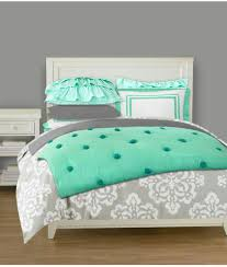 love these colors mint and grey bedding for a teen s room