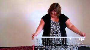 Doorway Beaded Curtains Wood by How To Hang A Beaded Curtain Shopwildthings Video Time With Tina