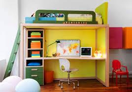 bureau pour mezzanine lit avec bureau pour fille inspirations avec lit mezzanine