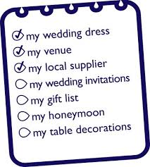 Simple Wedding Planning Checklist