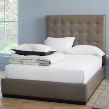bed frame upholstered leather plinth upholstered bed frame