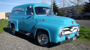 100 1955 Ford Panel Truck F100 F82 Seattle 2015