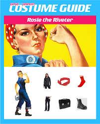 Rosie The Riveter Halloween Diy by Diy Rosie The Riveter Costume Guide Go Go Cosplay