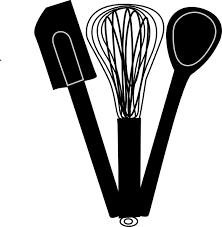baking utensils clipart bake hi