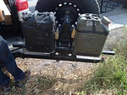 100 Wilco Truck Stops Offroad Hitchgate Jerry Can Mounting Kit