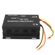 100 Truck Power Inverter Car Electric Convertor 15A DC 24V To 12V 180W