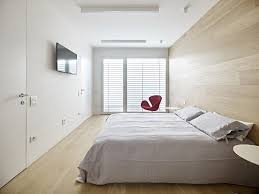 Instead Of A Headboard This Gorgeous Wood Accent Wall Carries The Floor Up To Appealing Guest Bedroom Ideas