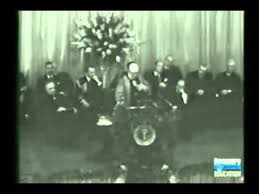 Churchills Iron Curtain Speech Bbc by Iron Curtain Churchill U0027s Speech Abridged Youtube