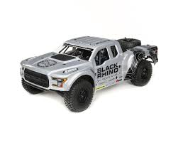 100 Losi Trucks Baja Rey Ford Raptor 110 RTR 4WD Brushless Desert Truck Black