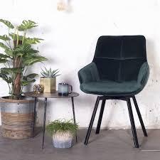 esszimmerstuhl drehbar shannon samt grün velvet stuhl