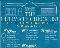 Image Result For First Time Home Buyer Checklist