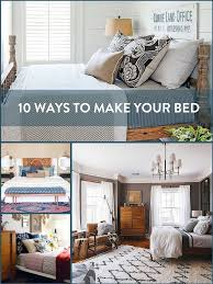 Roundup 10 Ways to Make Your Bed