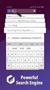 Owl Browser Website Lock Private Fast Screenshot Thumbnail