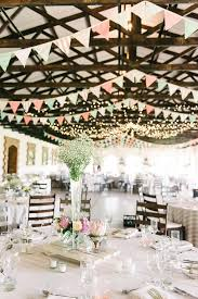 Barn Bunting Mint Coral South African Wedding Louise Vorster Photography