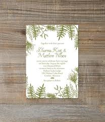 Printable Digital Rustic Woodland Green Forest Wedding Invitation These Would Look Great Printed On