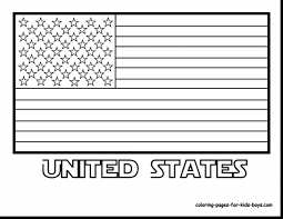 Amazing United States Flag Coloring Page With Pages And Day