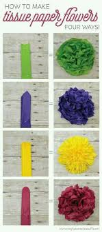 Learn How To Make Four Different Types Of Tissue Paper Flowers They Can A Gorgeous Wedding Centerpiece Without Breaking The Bank