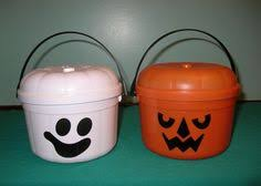Mcdonalds Halloween Buckets by Vintage Halloween Plastic Jack O Lantern Pumpkin Hat Blow Mold