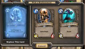 Hearthstone Deck Builder Tool by The Pros U0026 Cons Of Deck Recipes Articles Tempo Storm
