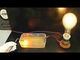 Who Invented The Salt Lamp by Electrical Conductivity With Salt Water Youtube