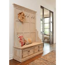 Mudroom storage bench and coat rack Making Your Own Mudroom