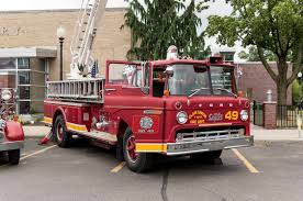 Top 9 Cop Cars, Fire Trucks, And Ambulances At Woodward 2017 - Motor ... 1949 Ford F5 Fire Truck For Sale 1965 Ford F600 Item Dh9615 Sold June 7 Vehic Fire Trucks Types Rtrucks 1943 Fordamerican Lafrance Truck The National Wwii Museum 1942 American Foamite Pumper Flickr Cseries Wikipedia Fileford 1944 14257006121jpg Wikimedia Commons Pierce At Auction Youtube Bangshiftcom 1978 1956 C800 Big Job Cabover Willow River Mn Engine