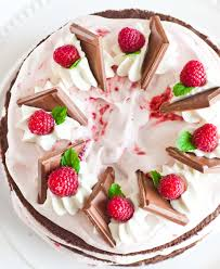 Chocolate Raspberry Cake with Cream Cheese Frosting Tatyanas