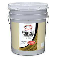 Zinsser Popcorn Ceiling Patch Home Depot by Glidden Professional 5 Gal Pva Drywall Interior Primer Gpd 0000
