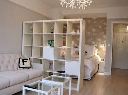 1 If Youre In A Studio Adding Bookcase Is Great Way To Separate Your Living Space From Sleeping Plus The Cubby Kinds Add On Some Extra