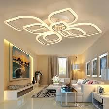 großhandel moderne acryl led deckenleuchte überlappende rahmen große luxus deckenleuchte für wohn esszimmer schlafzimmer glanz avize rangcy2008