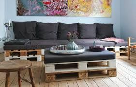 idée de canapé canape en palette