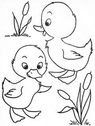 Two Little Ducks DucksColoring PagesColouring KidsBookEmbroideryPaintingDrawingsRisks