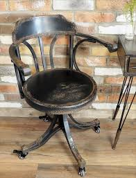SOLD: Industrial Desk Chair - Cambrewood