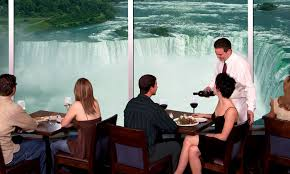 Skylon Tower Revolving Dining Room by Embassy Suites By Hilton Niagara Falls Fallsview Hotel Canada