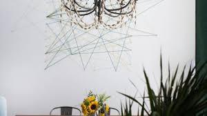 Charming Idea String Wall Art With Mr Kate DIY Mural MrKate StringWallArt 18 Of 21 10 Patterns Ideas Kits Tree