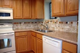 Kitchen Backsplash With Oak Cabinets by Kitchen Backsplashkitchen Backsplash Ideas With Dark Oak Cabinets