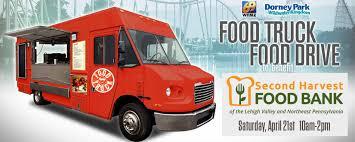 Food Truck Food Drive | Second Harvest Benefit Event | Dorney Park