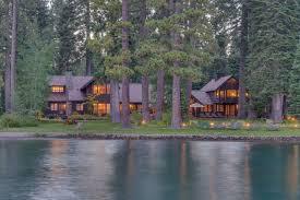 104 Water Front House Lake Tahoe Front Estate Asks 45 Million Wsj