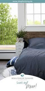 maritim einrichten schöne bettwäsche schlafzimmer
