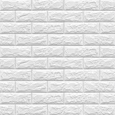 dtc gmbh 3d tapete 3d tapete selbstklebend wandpaneele 3d backstein 6 st 77 x 70 cm selbstklebend wandpaneele wasserfest ziegel steinoptik