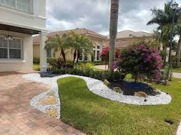 Rhininfo Unique Front Yard Garden Chip White Marble Chips For Landscaping Ideas Collection Rock