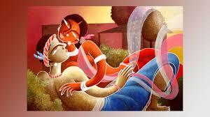CONTEMPORARY INDIAN TRIBAL ART III ACRYLIC PAINTINGS SANTHALI