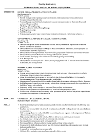 Download Market Access Manager Resume Sample As Image File