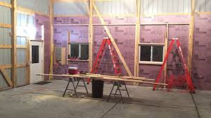 Workshop - Insulating Exterior Walls & Framing In The Pole Shed ... Pole Barn 40x64x16 Page 19 Hoosier Square Insulation Foam Polyurethane Indiana Insulateupgrade Existing Barnshop Building New 36x60 Advice On Venting And Spray Foam Insulation Audubon Ia Iowa Insulators Finished With Metal Liner Kit Clothes Pinterest Diy Barns 7 Reasons To Choose Steel Over Buildings Residential Barn Insulated Spray Td Fischer Insulate For Pole Rollup Doors