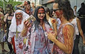 Hit The Floor Character Dead by Day Of The Dead Celebrated In Striking Photographs Of Dramatic And