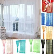 vorhang garn gardine fenster transparent modern wohnzimmer