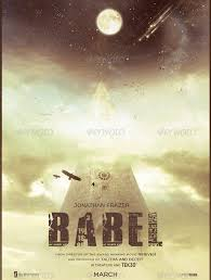 Babel Movie Poster Template Photoshop PSD Download